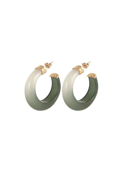 GAS BIJOUX Abalone Earrings