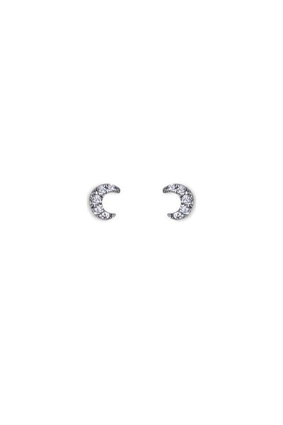 Marly Moretti ZIRCONE-MOON EARRING