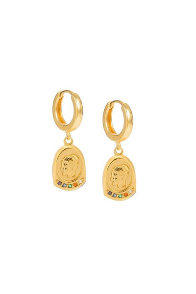 Hermina Athens Ygieia Earrings