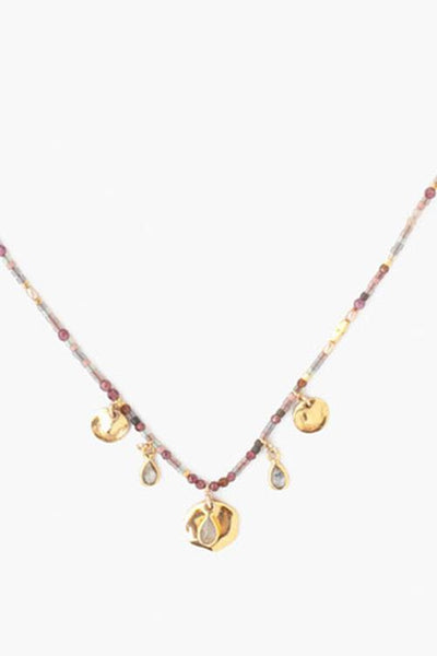 Chan Luu Garnet Necklace
