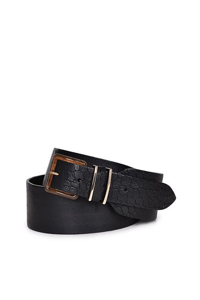 Husk Elaine Belt - Black