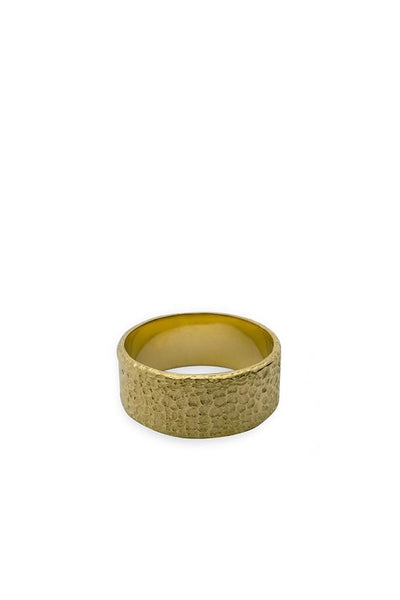 Husk Wide Ring - Gold