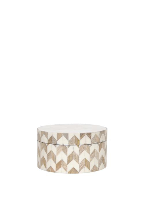Husk Home Round White