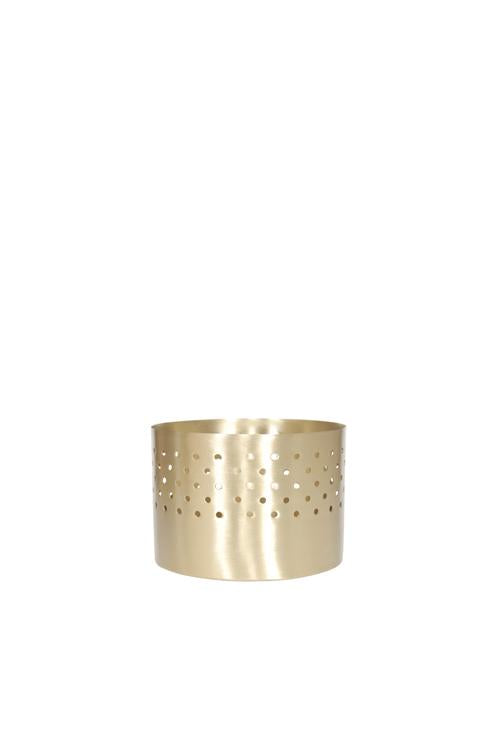 Husk Home Votive Brass