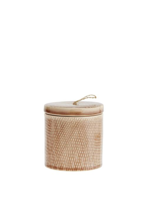 Husk Home Ceramic Jar