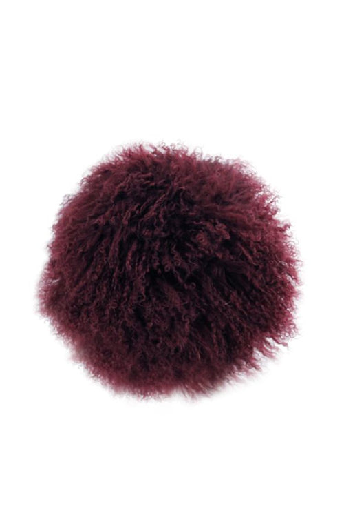 Husk Home Plum Cushion