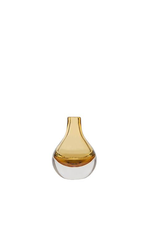Husk Home Bottle-Vase Amber