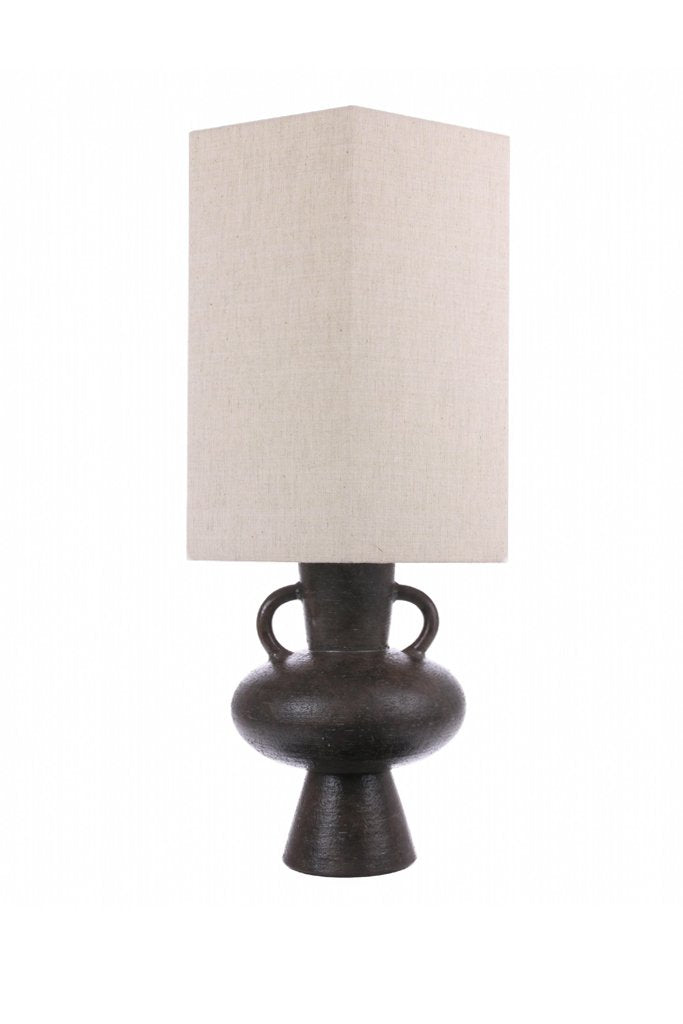 Husk Home Charcoal-Stone Lamp