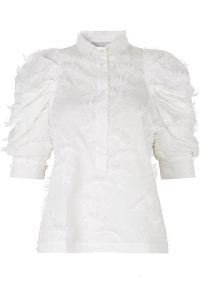 Munthe Temple Blouse - White