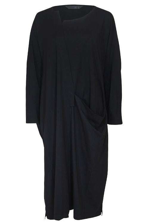 Moyuru International L/Slv-Drpe Dress