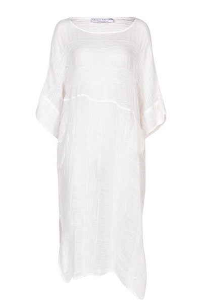 Estilo Emporio Nebbilio Dress - White