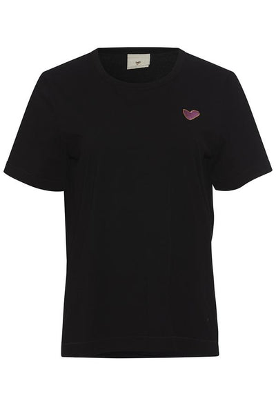 Heartmade Elin T-shirt - Black