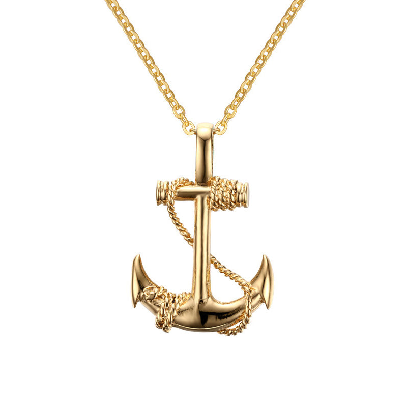 Deep Anchor Necklace