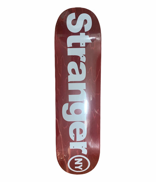 Spell Out Logo Skateboard Deck