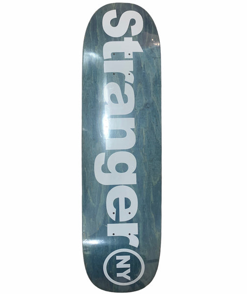 Spell Out Logo Shaped Skateboard Deck