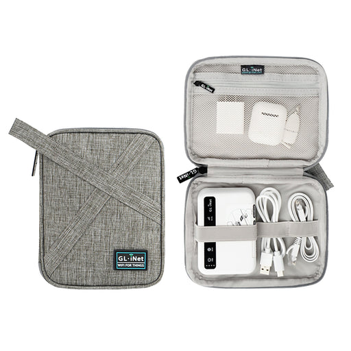 Travel Gadget Organizer Pouch Bag | For chargers, cables, mini routers - GL.iNet