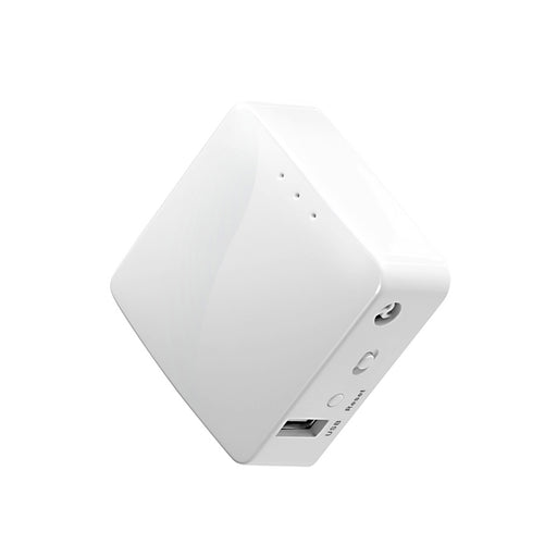 White Mini Smart Router | Commercial IoT Applications | Pocket-sized | Travel-Friendly (GL-AR150) - GL.iNet