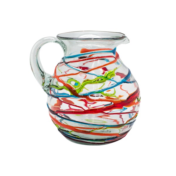 Water Jug - Swirl Multi Colour