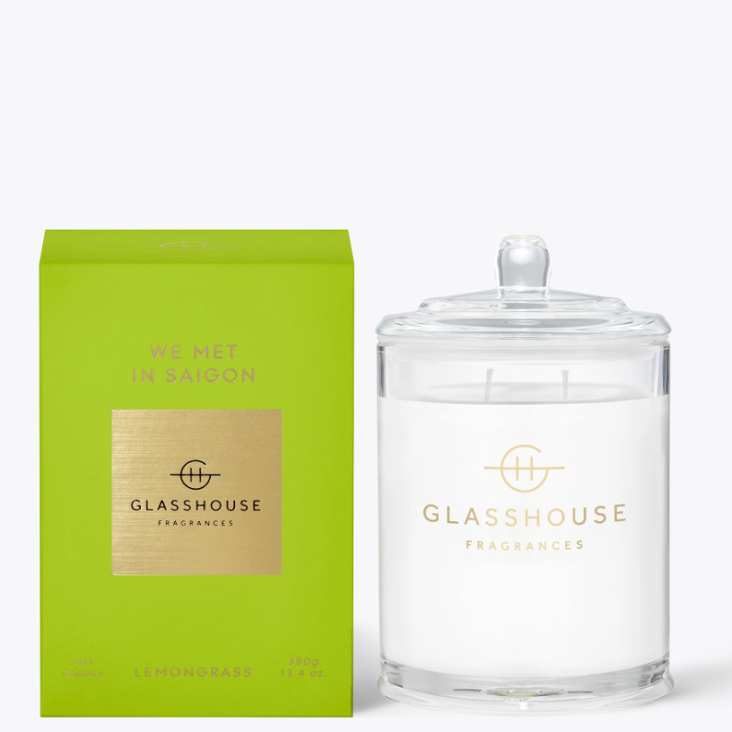 380g Candle - WE MET IN SAIGON By Glasshouse