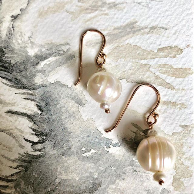 Anahita Pearl Earrings