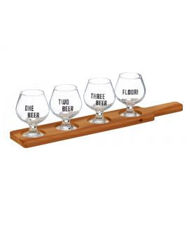 MV Beer Tasting Paddle Set 5pce