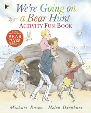 Bear Hunt Activity Fun Book
