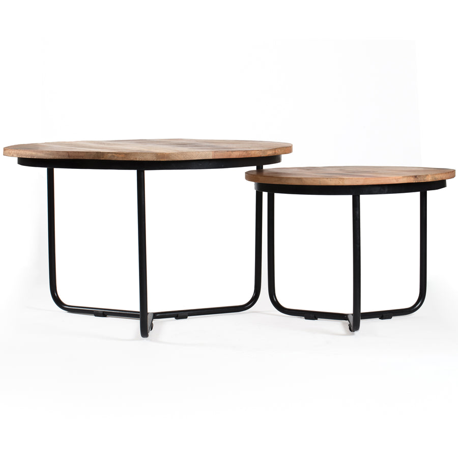 Casa wood Coffee Table set of 2