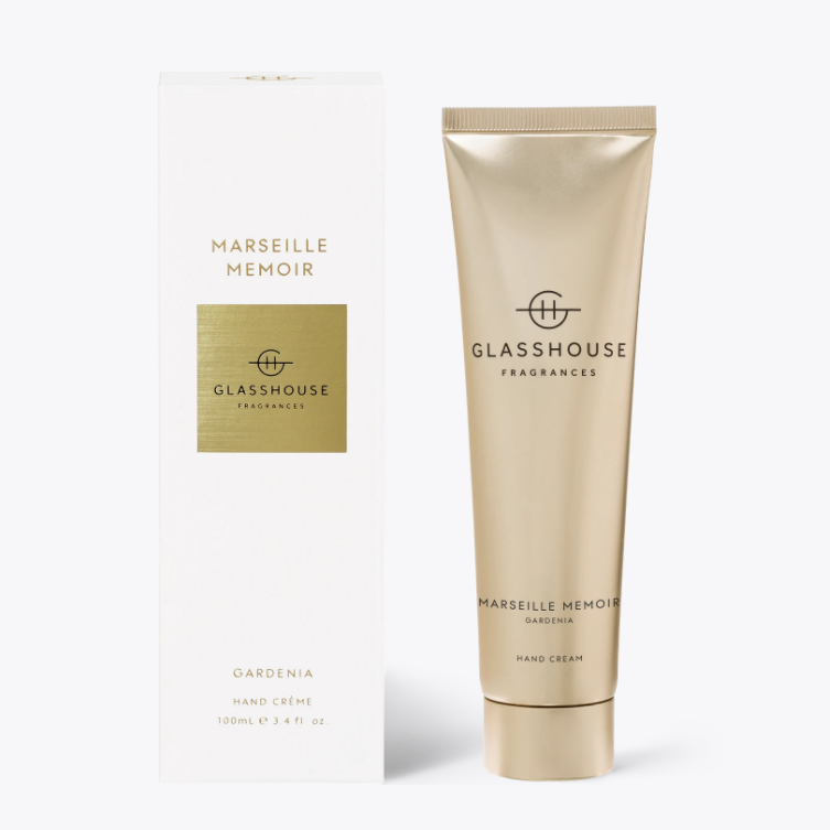100ml Hand Cream - MARSEILLE MEMOIR By Glasshouse