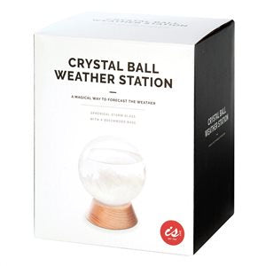 Crystal Ball Weather StationIS GIFT Crystal Ball Weather Station