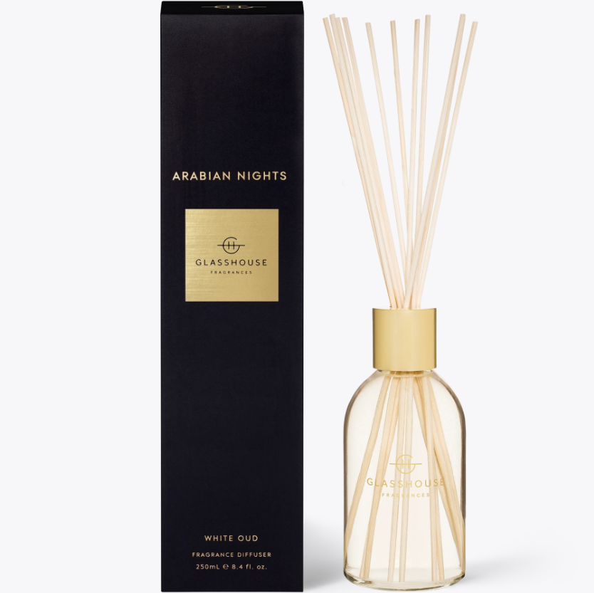 250ml Diffuser - ARABIAN NIGHTS By Glasshouse