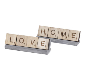 Home and Love Scrabble 2 Asst