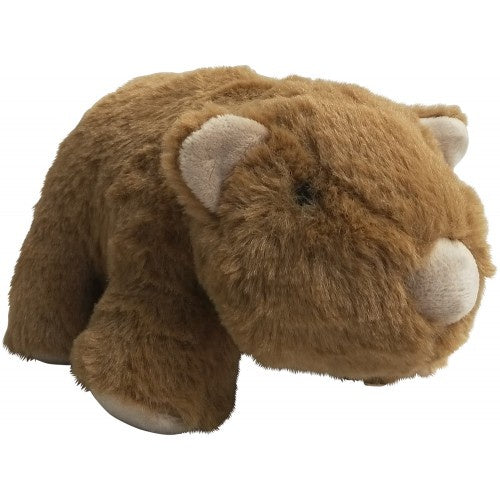 Plush Wombat Toy Brown