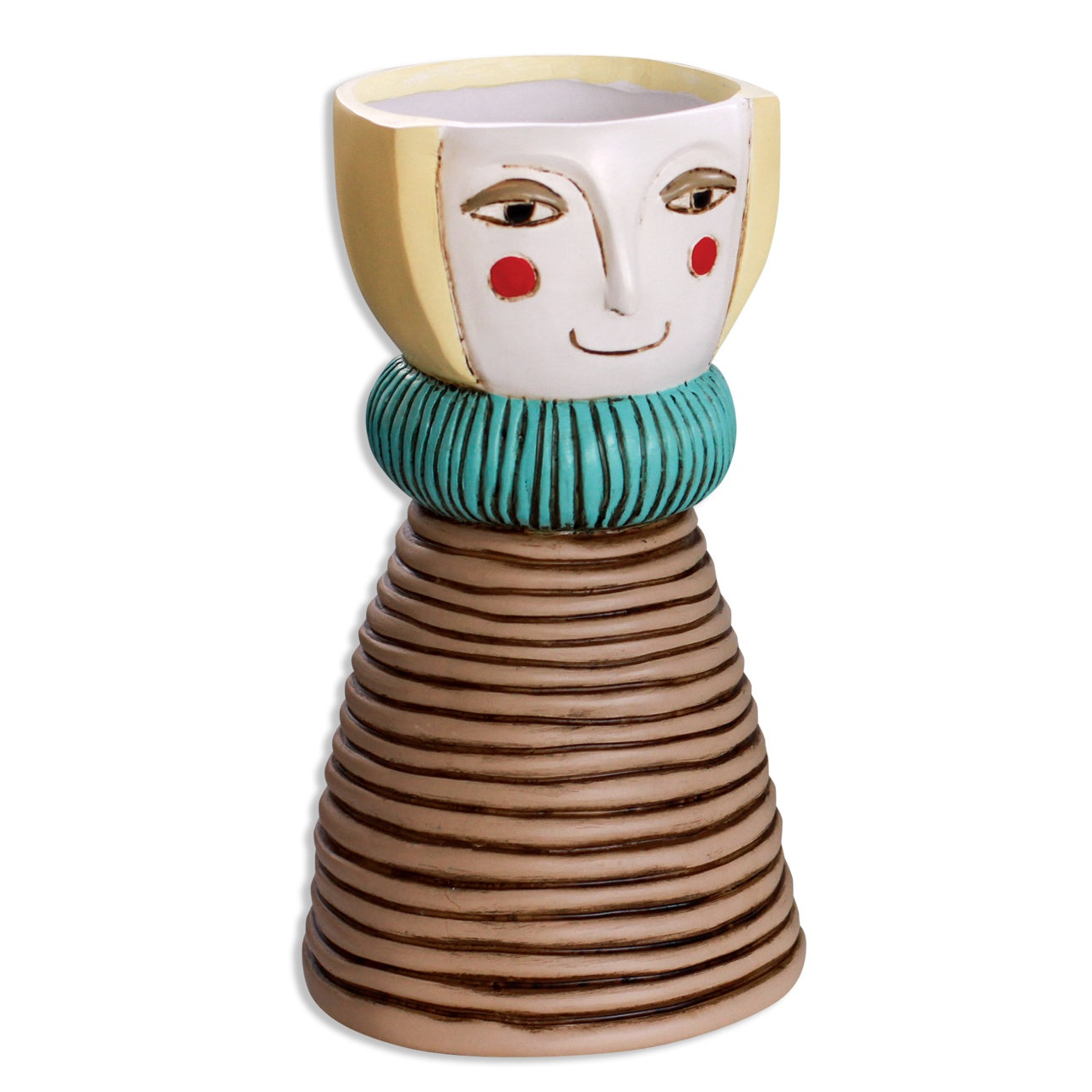 Lady Blonde Vase Planter