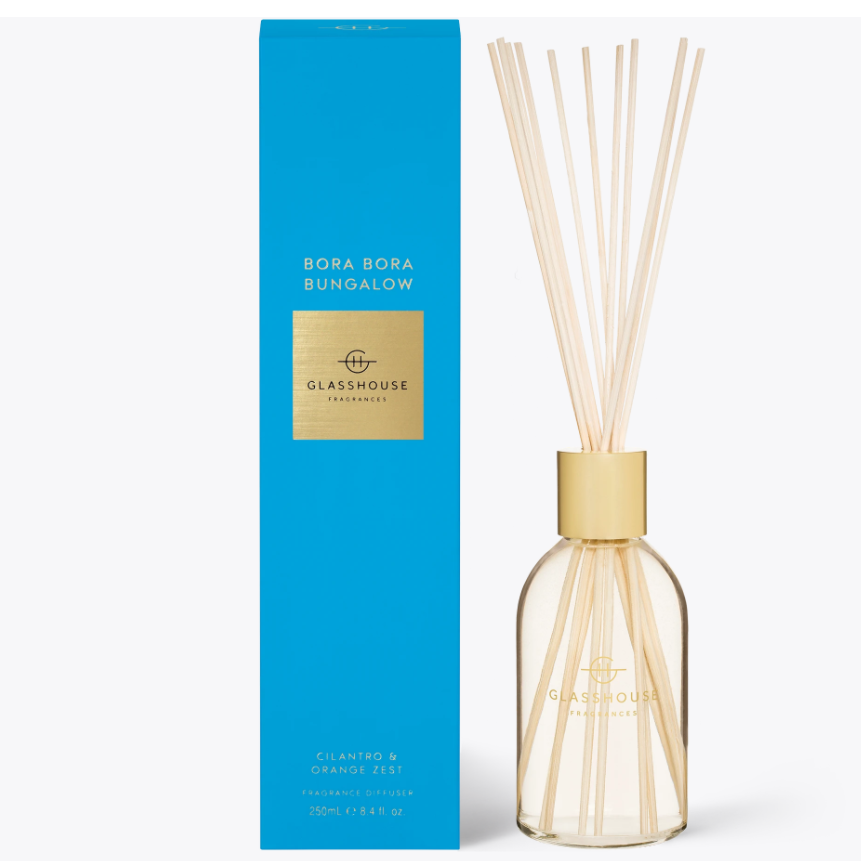 250ml Diffuser - BORA BORA BUNGALOW By Glasshouse