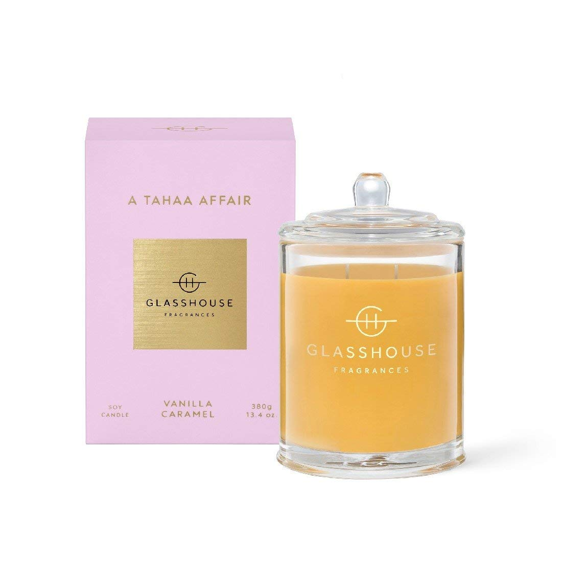 380g Candle - A TAHAA AFFAIR By Glasshouse