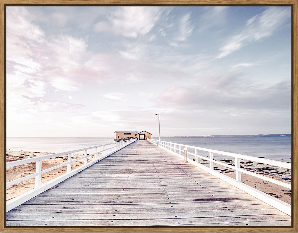 Floating Frame - Jetty Sunsets - 115x90