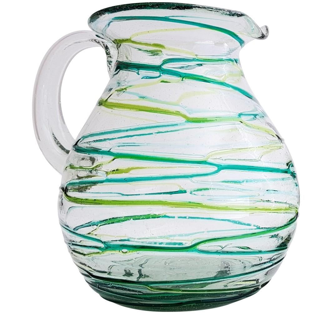 Water Jug - Swirl Green