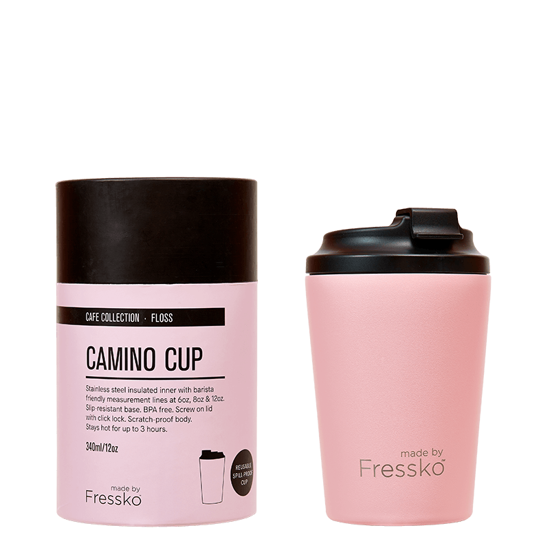 Fressko Reusable Coffee Cup 12oz - Floss
