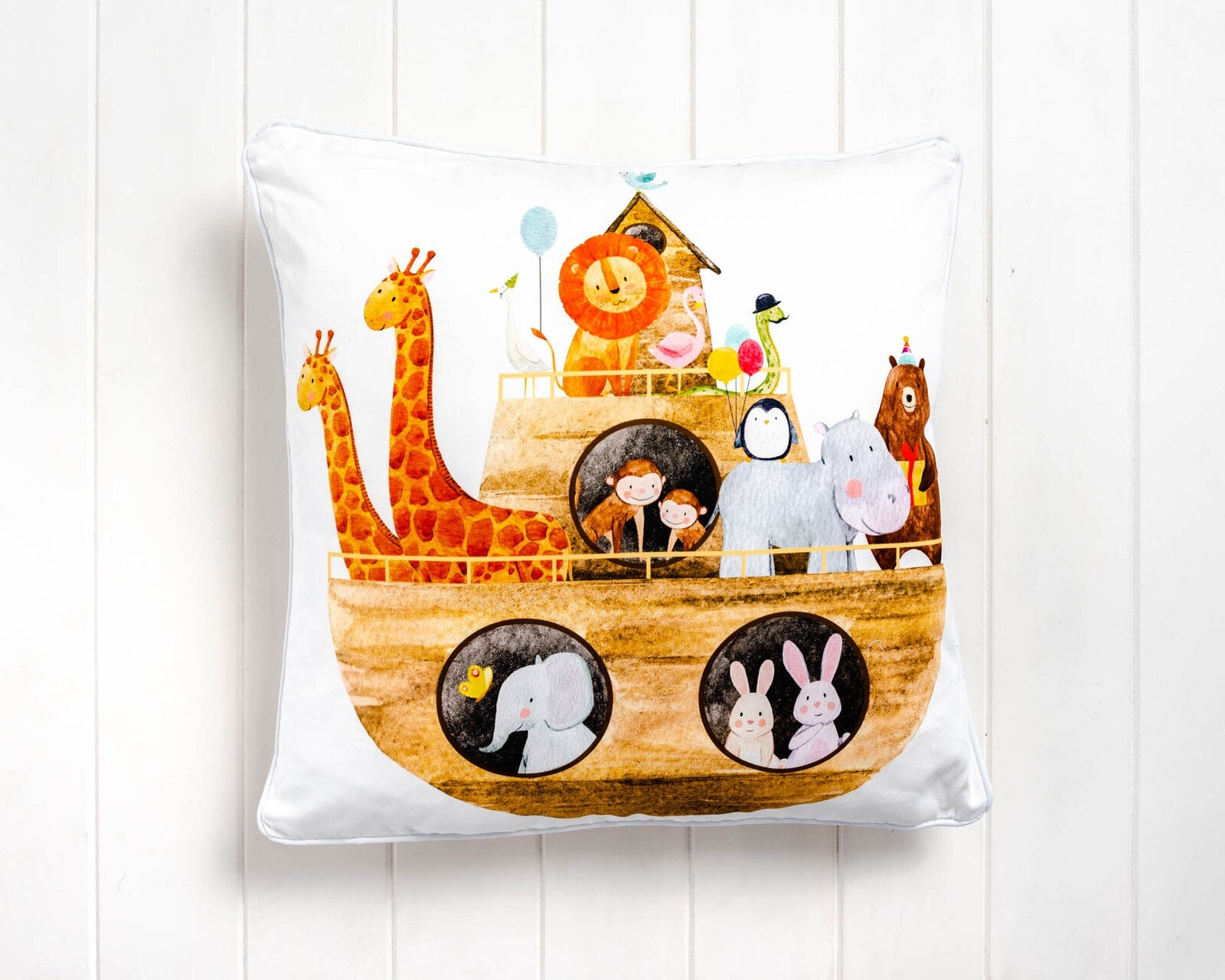 Noah's Ark Cushion