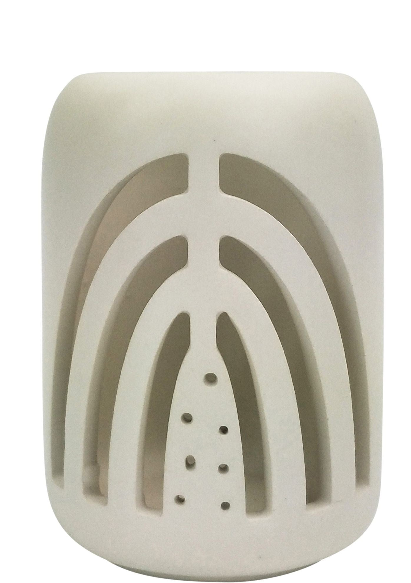 Addie Rainbow Tealight White 11cm