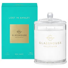 380g Candle - LOST IN AMALFI By Glasshouse