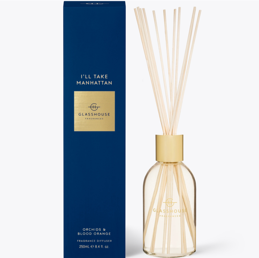 250ml Diffuser - I'LL TAKE MANHATTAN By Glasshouse