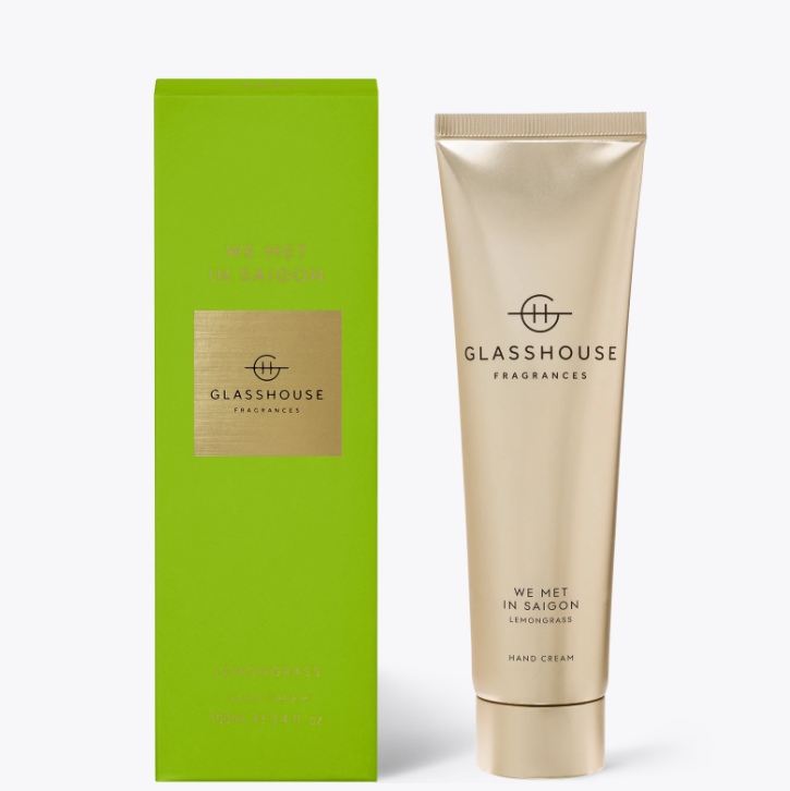 100ml Hand Cream - WE MET IN SAIGON By Glasshouse
