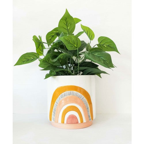 Woodstock Rainbow Planter Mustard Small