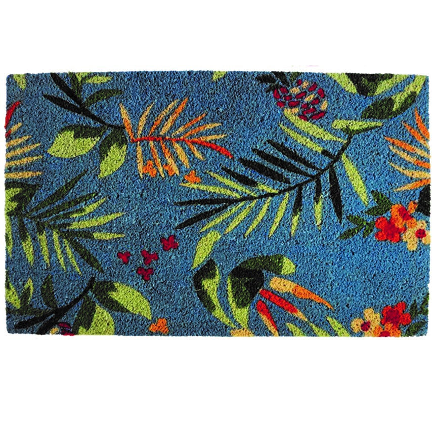 Designer Door Mat - Tropical Island