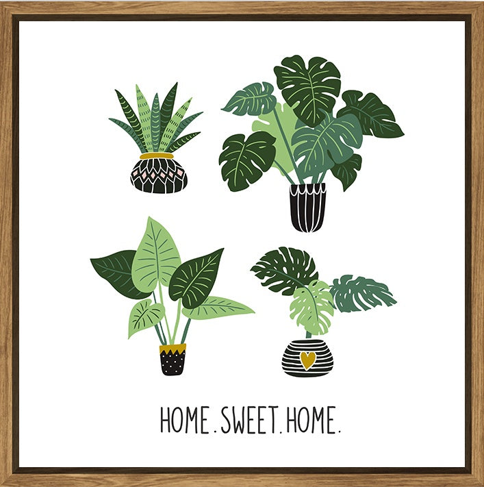Thin Floating Frame- Home Sweet Home