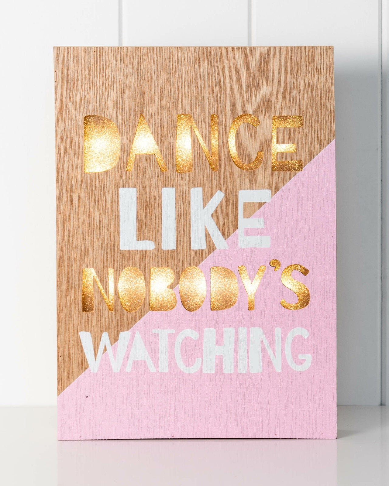 LED light box- dance like no ones watching