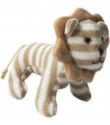 Beige Stripe Lion Toy