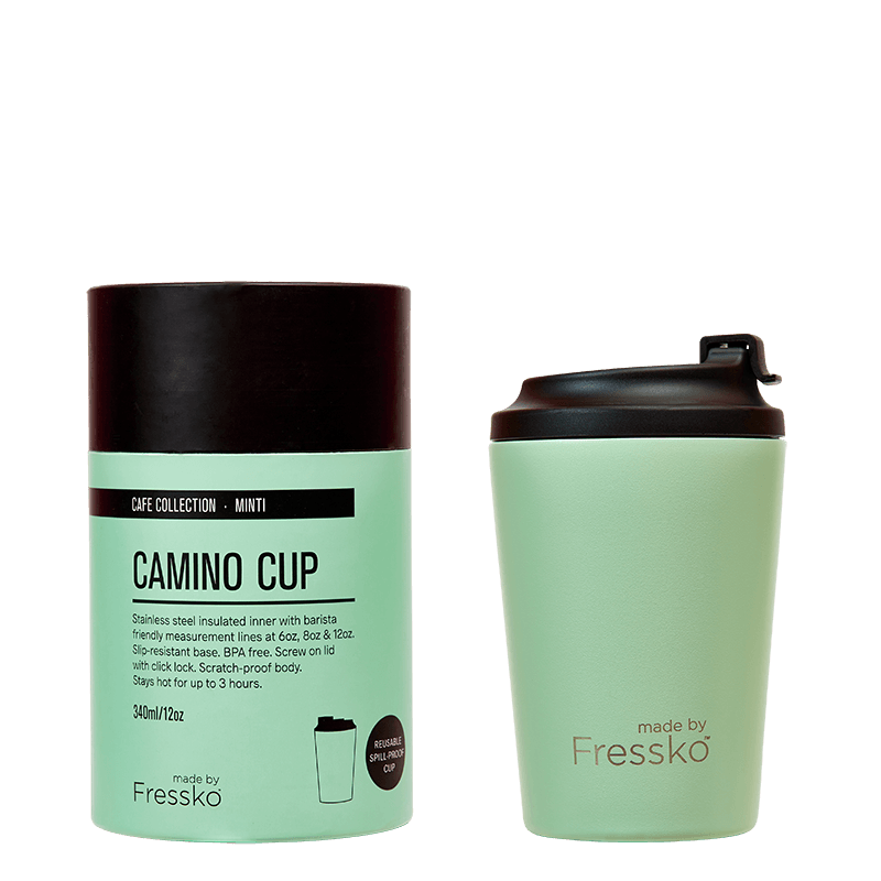 Fressko Reusable Coffee Cup 12oz - Mint
