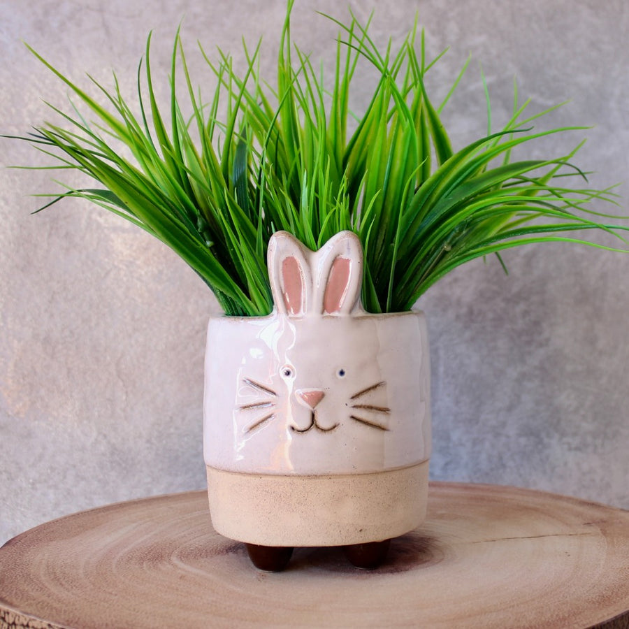 Bunny Planter With Legs